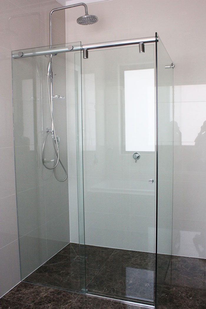 Sliding Frameless Shower Screens Get A Quote Frameless